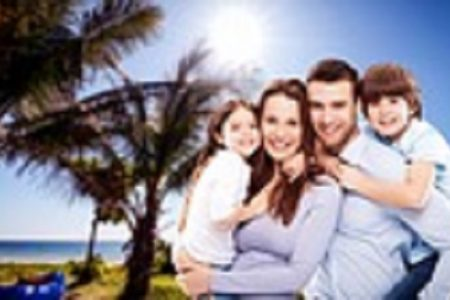 Get children worried in a family vacation